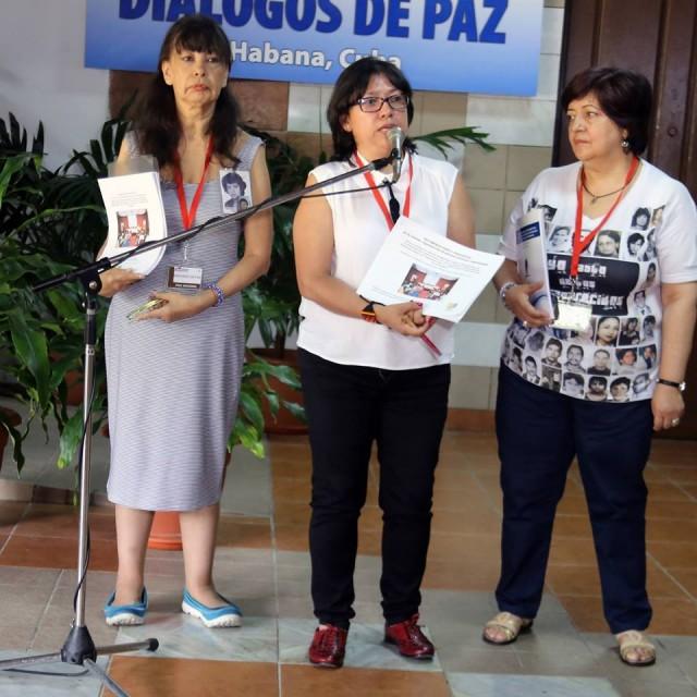 Convocatoria a rueda de prensa:   ¡Hito histórico! Víctimas, organizaciones de DDHH y especializadas entregaron recomendaciones en La Habana para implementación de acuerdo sobre desaparecidos.
