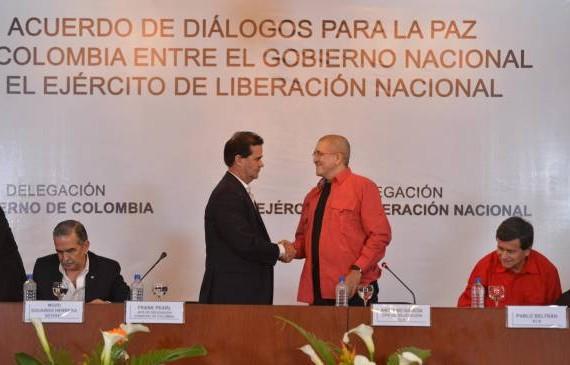 Por  una paz Completa: ¡Negociaciones y cese bilateral del fuego con el ELN ya!