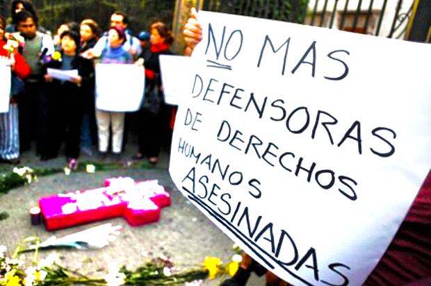 La paz exige garantías para la defensa de los derechos humanos en los territorios