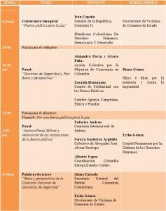 Agenda 7 de Septiembre