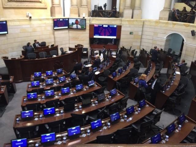 Intervencion ante el Congreso: El Acuerdo del paz es una oportunidad para garantizar la plena vigencia de los derechos