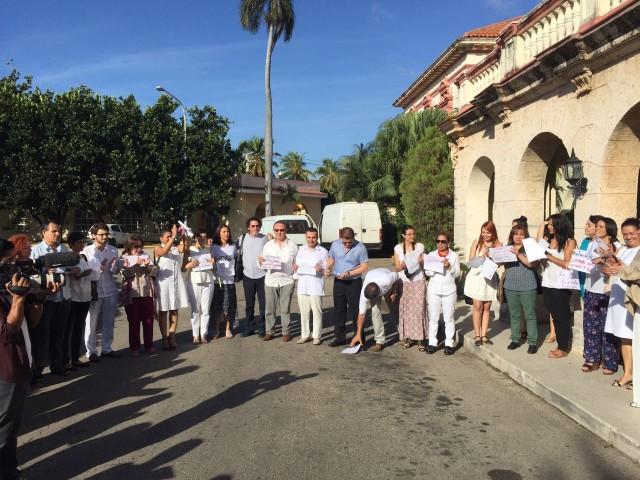 Comunicado de las organizaciones reunidas con la delegacion de paz de las FARC-EP en La Habana el 1 de Noviembre