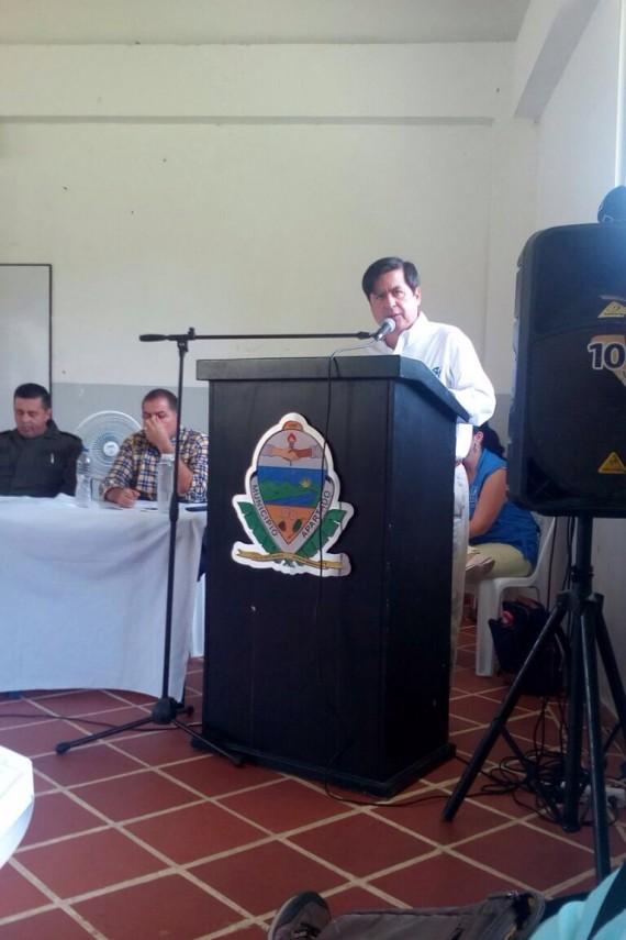 Con la presencia del Ministro del Interior se realizó acto de reconocimiento de defensoras(es) de DDHH en San Jose de Apartadó