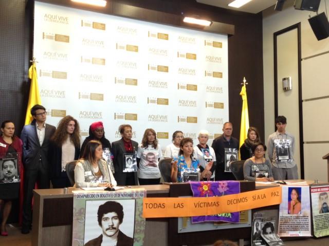 Organizaciones Sociales, de Derechos Humanos y de Víctimas exigen un mayor compromiso del Congreso con la implementación  y hacen un llamado urgente a que la reforma a la ley de víctimas sea en los términos de lo pactado en La Habana