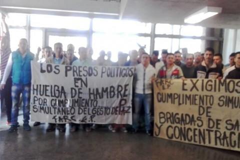 En una carta abierta, organizaciones de derechos humanos manifiestan su preocupación por 1.486 presos y presas políticos en huelga de hambre.
