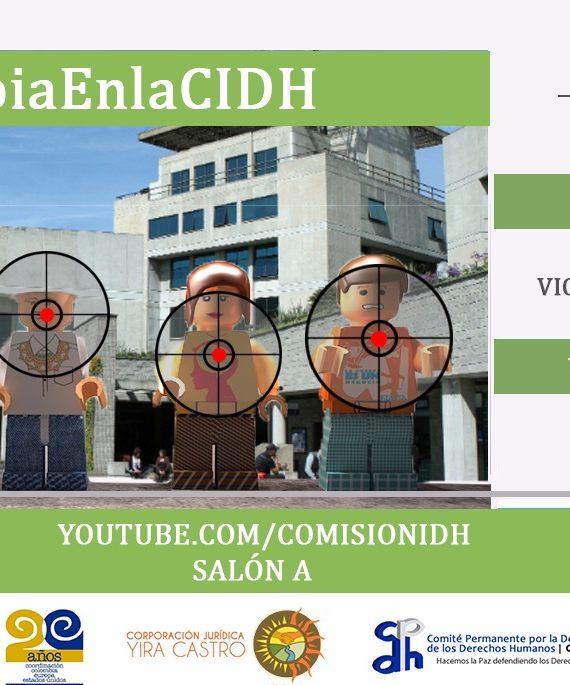 El 23 de octubre el Estado Colombiano rendirá cuentas ante la CIDH