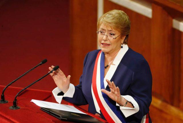 Carta a la Alta Comisionada Michelle Bachelet