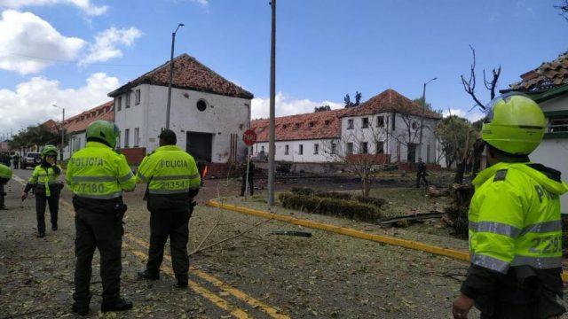 Comunicado sobre el atentado contra la Escuela de Policía General Santander