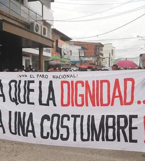 Defensores de Derechos Humanos exigimos concertación y diálogo en el Putumayo