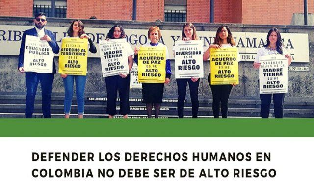 Fallan tutela a favor de la protección de líderes y lideresas sociales en Colombia y del derecho a defender derechos