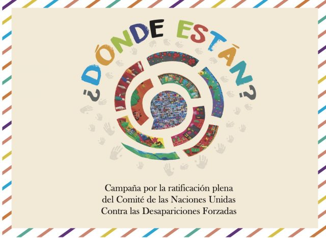 Semana Internacional del Detenido Desaparecido 2020 | AGENDA