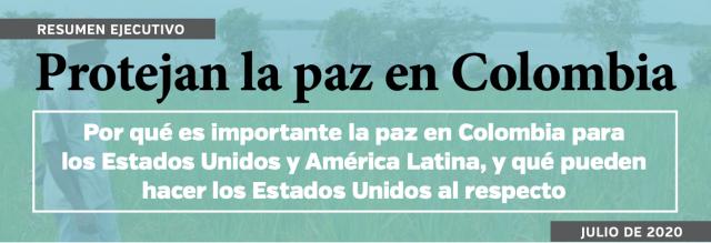 LAWG: Organizaciones de la sociedad civil estadounidenses y colombianas reiteran su llamado por la implementación de los acuerdos de paz en Colombia