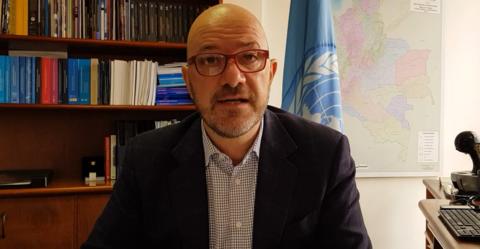 Más de 100 organizaciones y 160 personas, envían carta de agradecimiento y despedida a Alberto Brunori, director de la OACNUDH en Colombia y bienvenida a Juliette de Rivero.