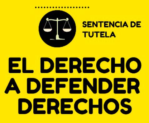 #DerechoADefenderDerechos – Infografía
