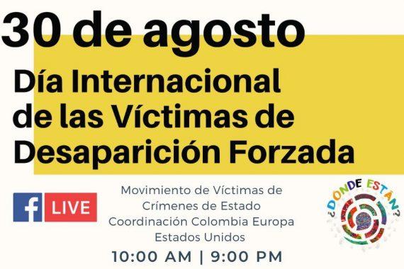 A la luz del incumplimiento estatal del Acuerdo de Paz, en Colombia nos siguen desapareciendo!