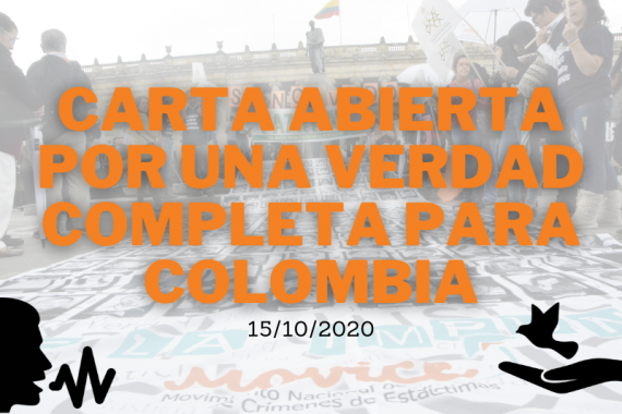 Carta abierta por una verdad completa para Colombia