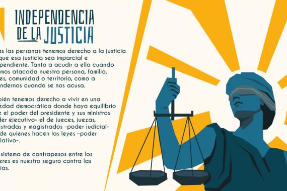 Principios básicos que garantizan la independencia judicial – #NadiePorEncimaDeLaJusticia